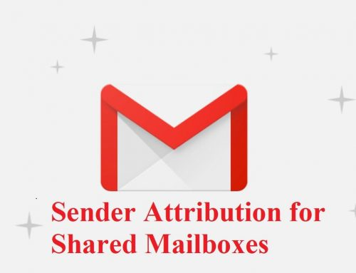 New Controls for Displaying Sender Attribution for Shared Mailboxes