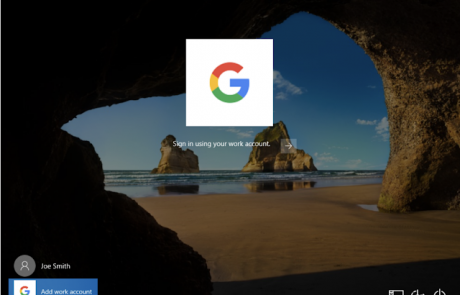 google workspace on windows 10