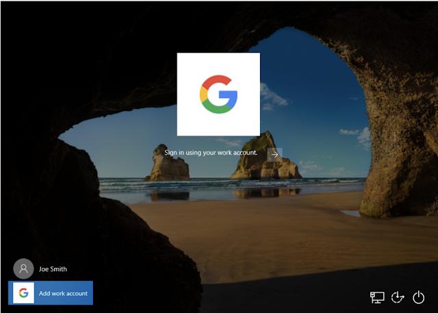 google workspace on windows 10