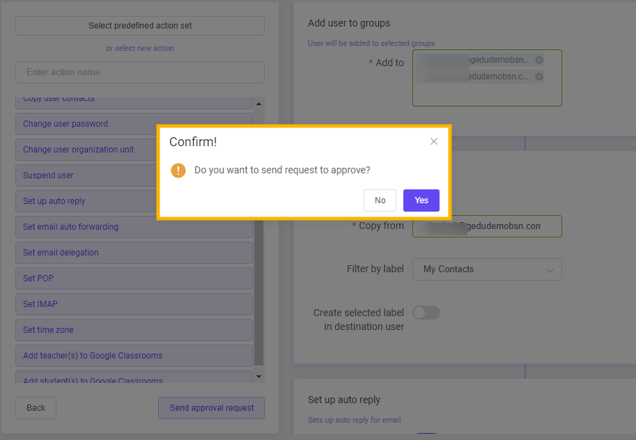 GAT Flow: How to Onboard a G Suite User 8