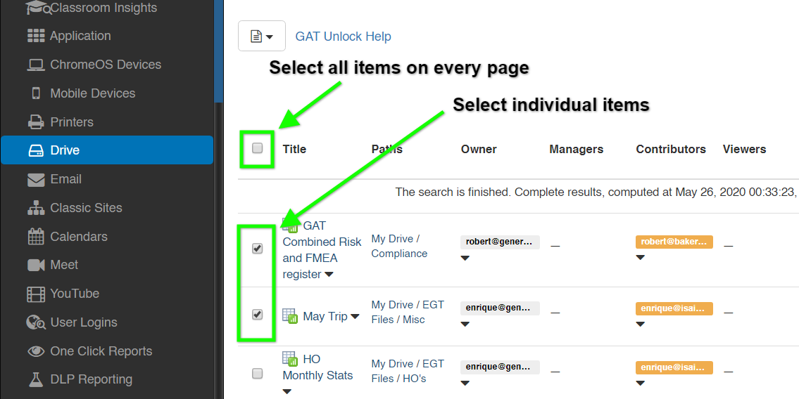 How to Use GAT Unlock for File Management 4