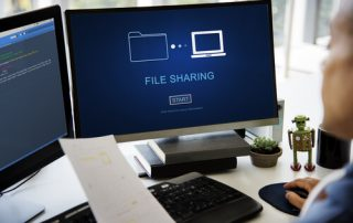 File Sharing Transfer Data Concept
