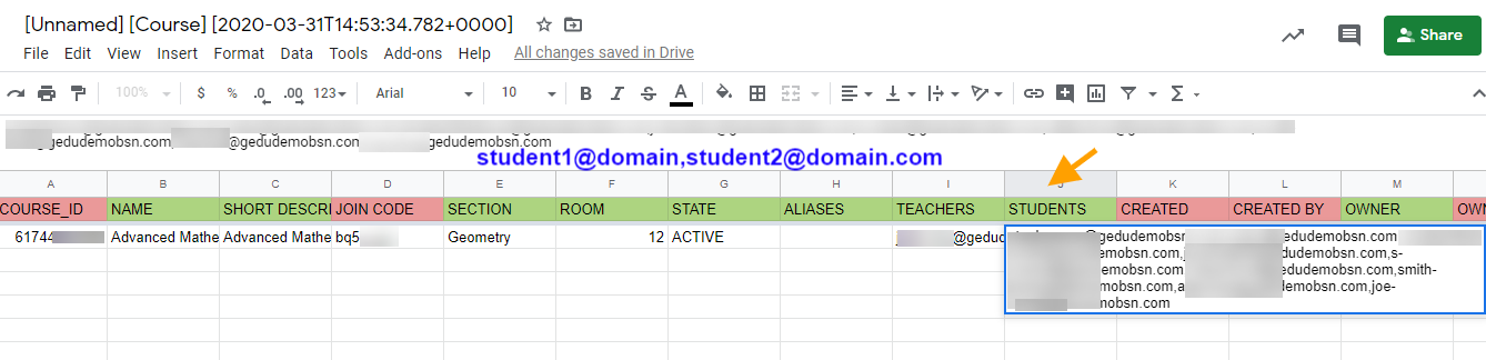 Add Students to Google Classroom 6