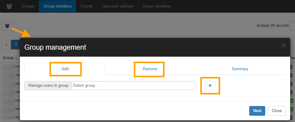 Manage Google Group Members using GAT+ 2