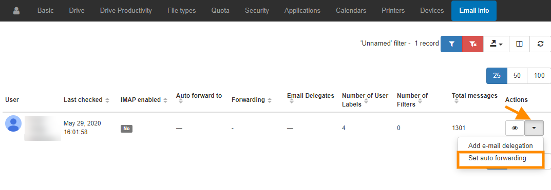 GAT+ | How to set up auto-forwarding for your Gmail users for G Suite 3