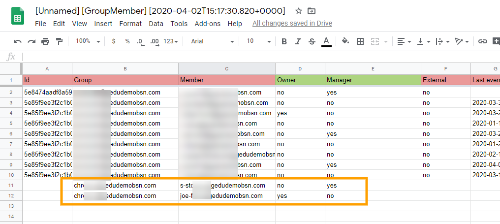 Manage Google Group Members via Google Spreadsheets 6