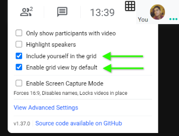 How to See All Users in a Grid View with Google Hangouts Meet? 1