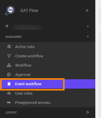 GAT Flow | Workflow Triggered by an Event on Users 2