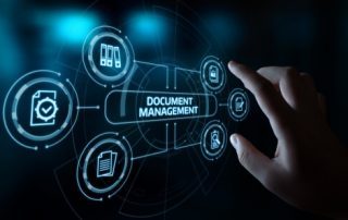 Document Management Data System Business Internet Technology Concept.