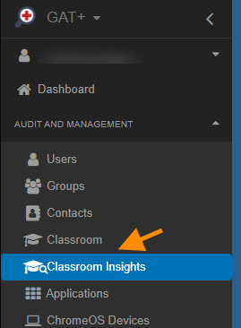 GAT+ Classroom Insights | Google Classroom Student Submission Summary 1