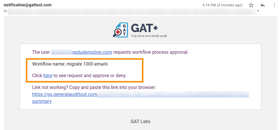 GAT Flow | How to Migrate Bulk Emails in G Suite 6