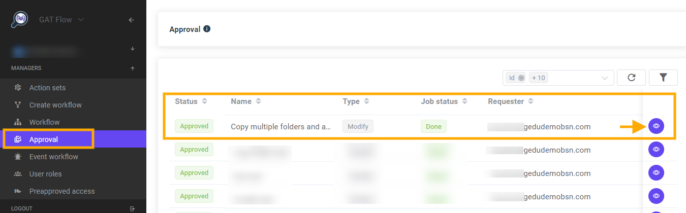 GAT Flow | Google Drive Copy Multiple Folders to Multiple Users in Bulk 10