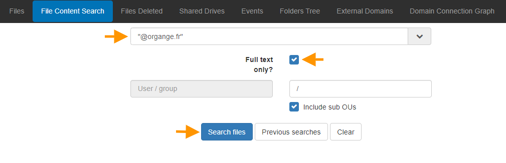 File Content Search - Searching Contents of Files 2