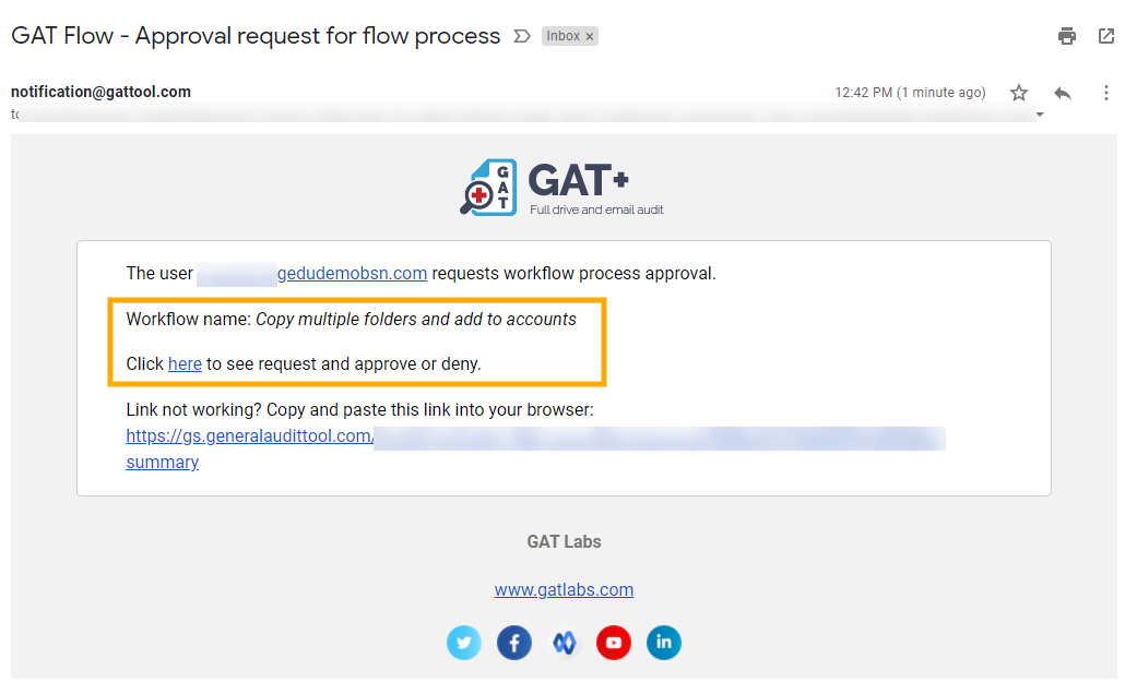 GAT Flow | Google Drive Copy Multiple Folders to Multiple Users in Bulk 9