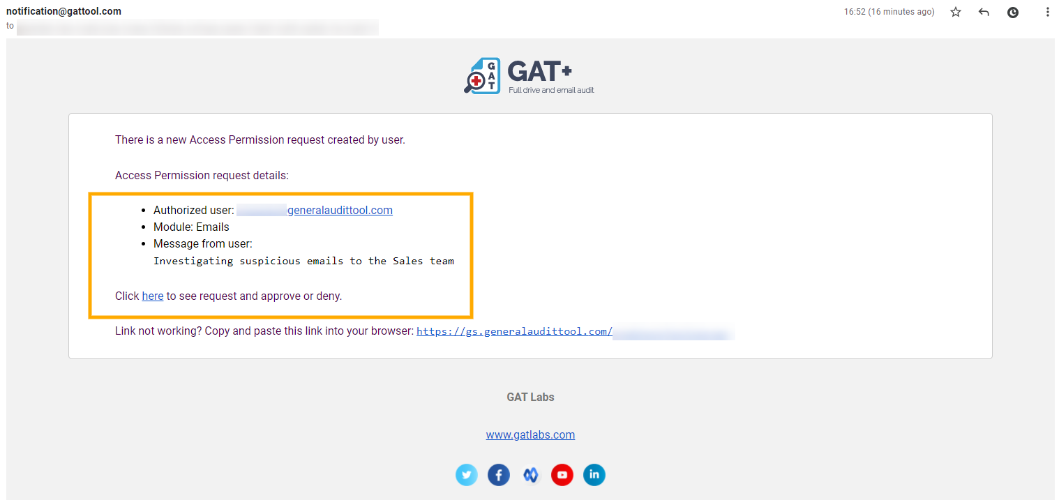 GAT Unlock 2.0 | Find and delete Phishing emails 6
