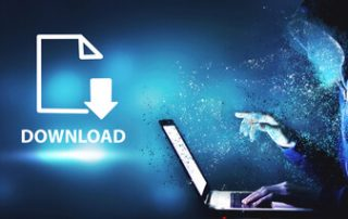 protection Download data to store business technology 3d Illustration