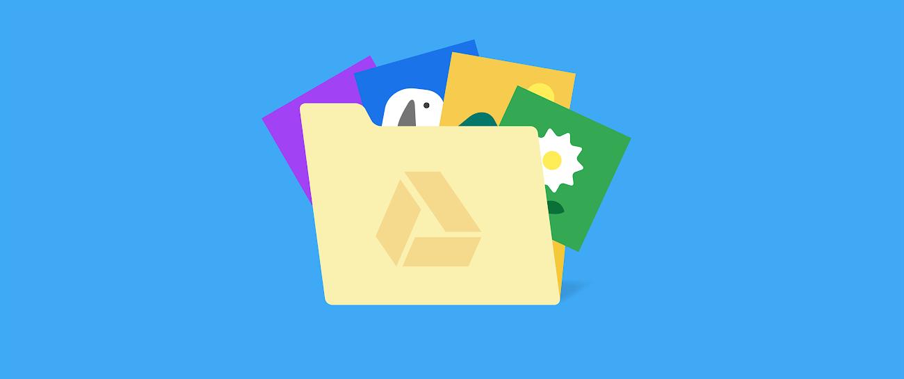 Restructure Google Drive