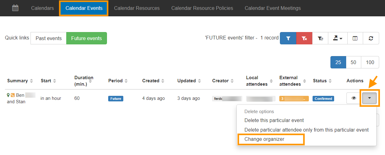 GAT+ | Change the Organizer of a Google Calendar Event 1