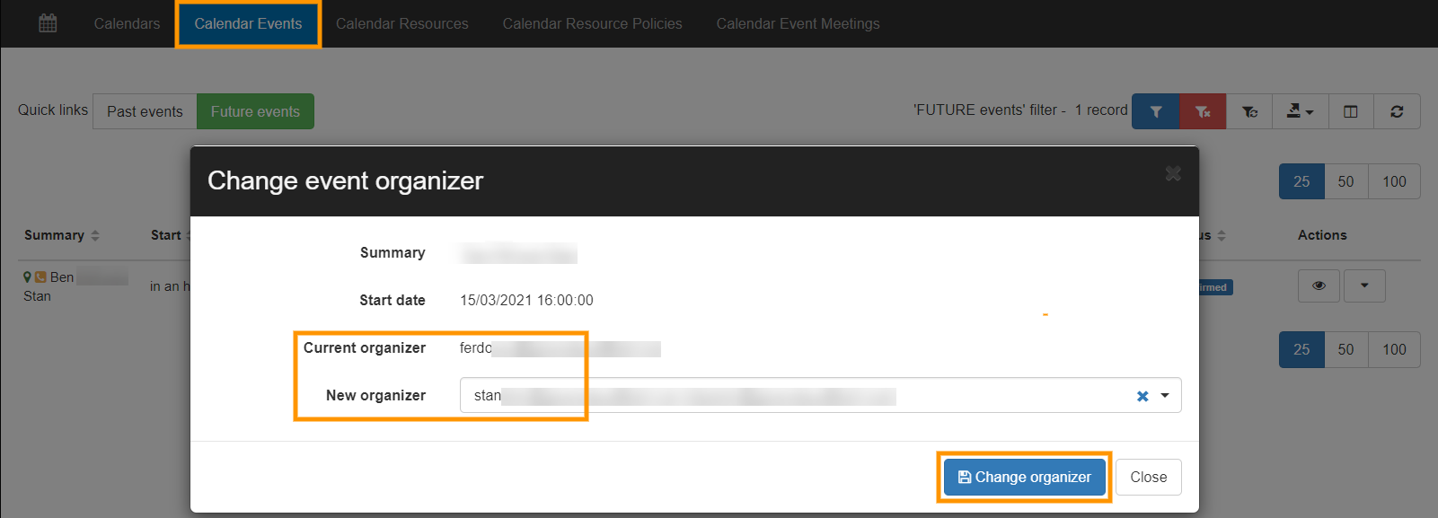 GAT+ | Change the Organizer of a Google Calendar Event 2