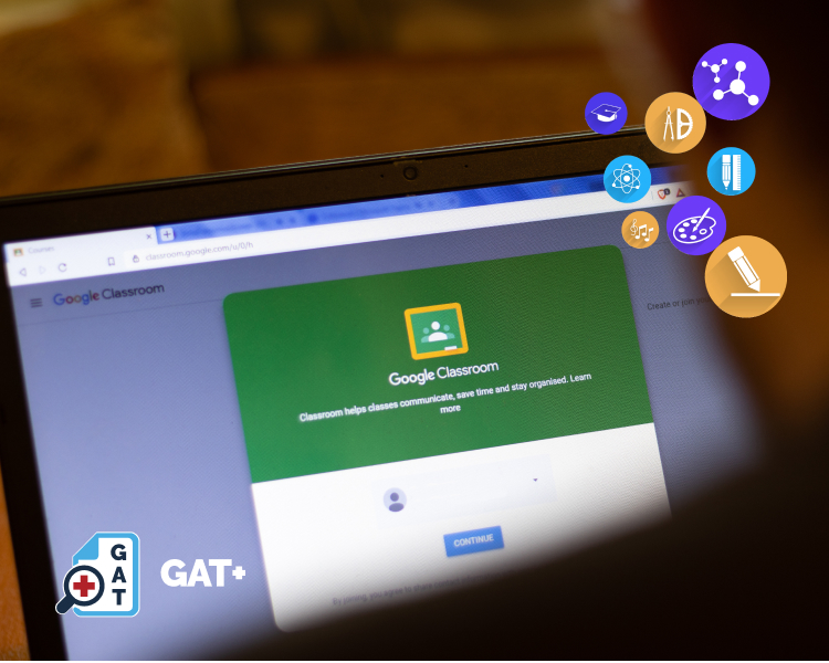 GAT+ | How to find Google Classroom groups 1