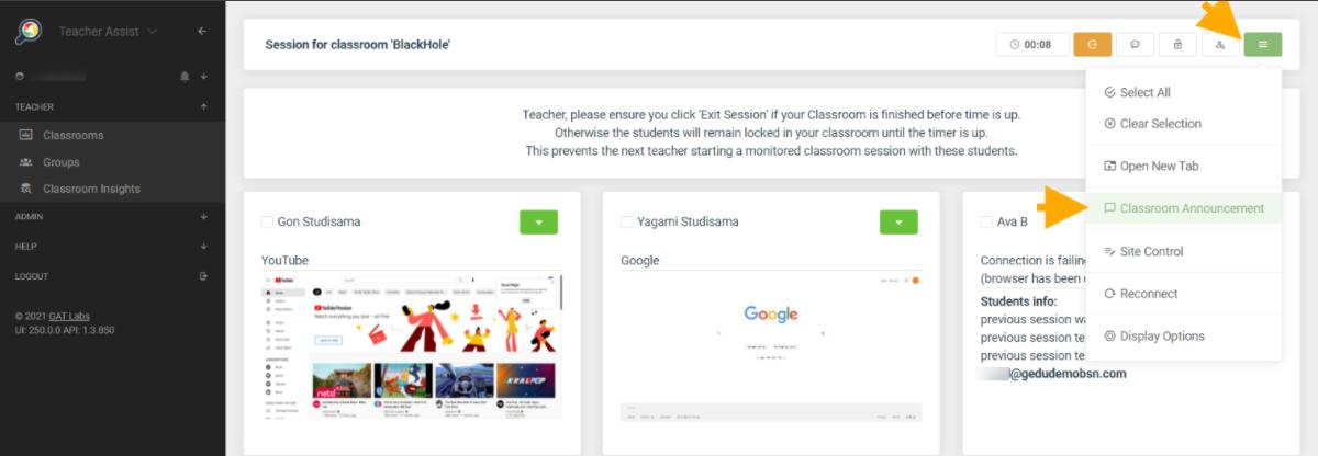 Teacher Assist - Teacher/Student Chat 5