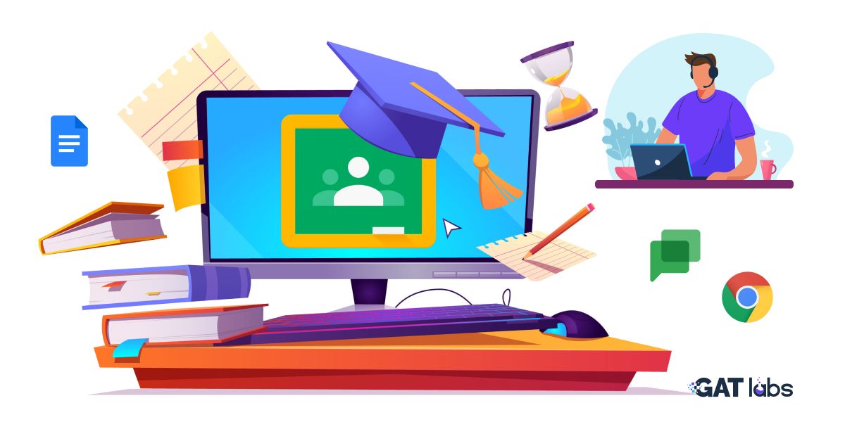 End of year Google Classroom Tasks for admins