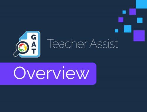 Teacher Assist Overview