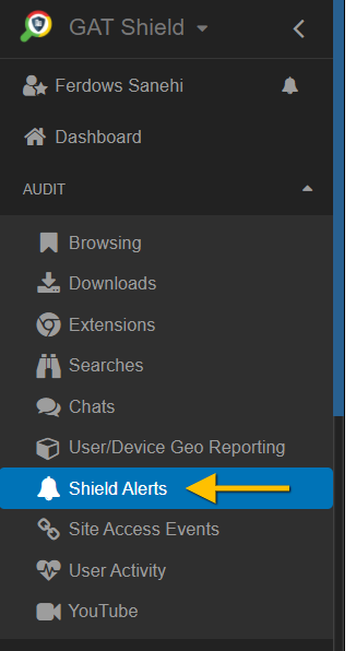 GAT Shield   Blocking Top Level Domains (TLD) with GAT Shield extension 6
