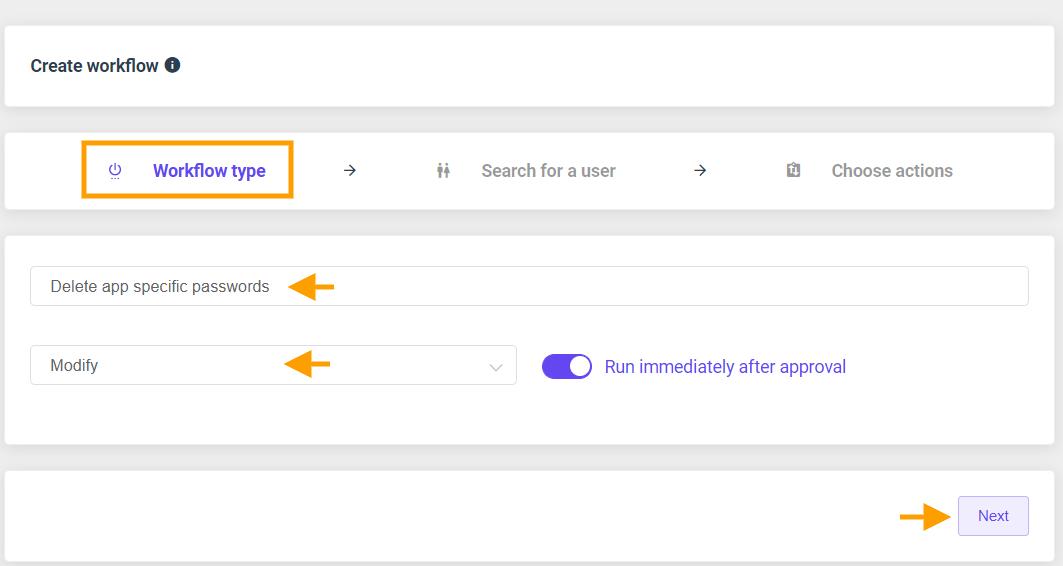 GAT Flow   Delete app-specific passwords 2