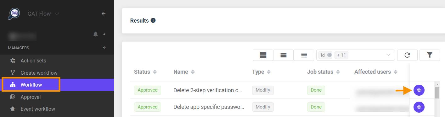 GAT Flow   Delete 2-step verification backup codes 7