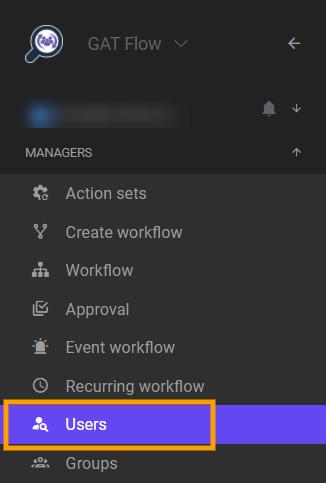 GAT Flow | Users audit 1
