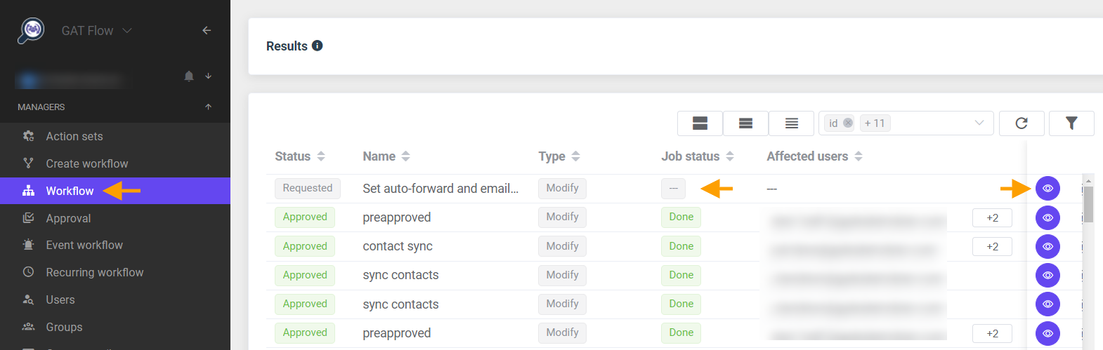 GAT Flow   Set email delegation and auto-forward to Manager 5