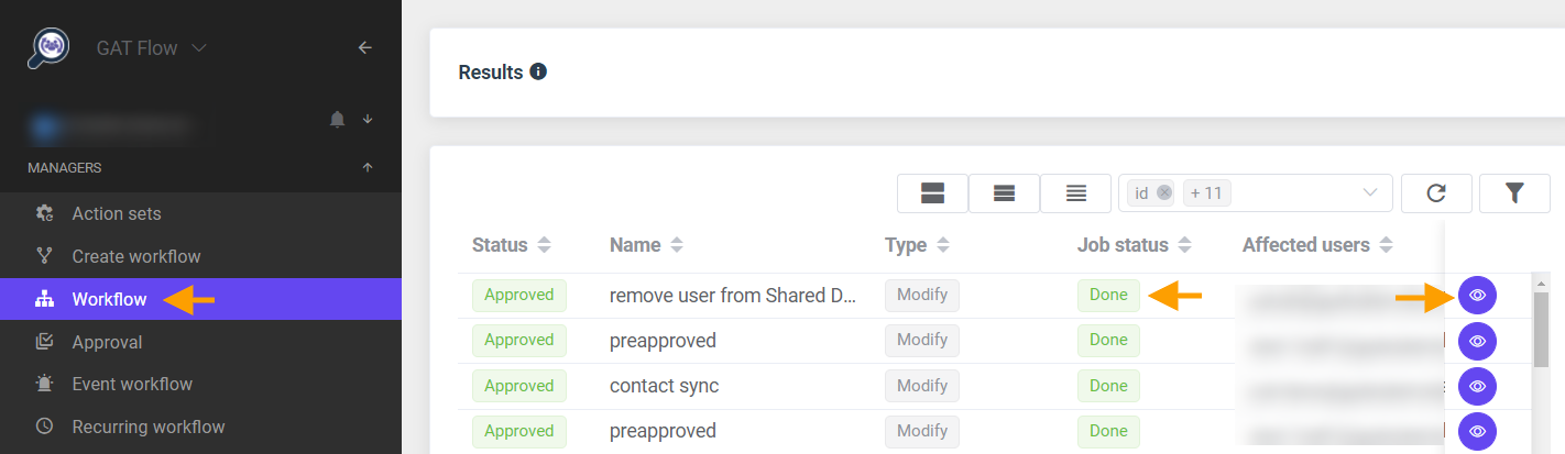 GAT Flow   Remove all permissions a user has from a Folder or Shared Drive 4