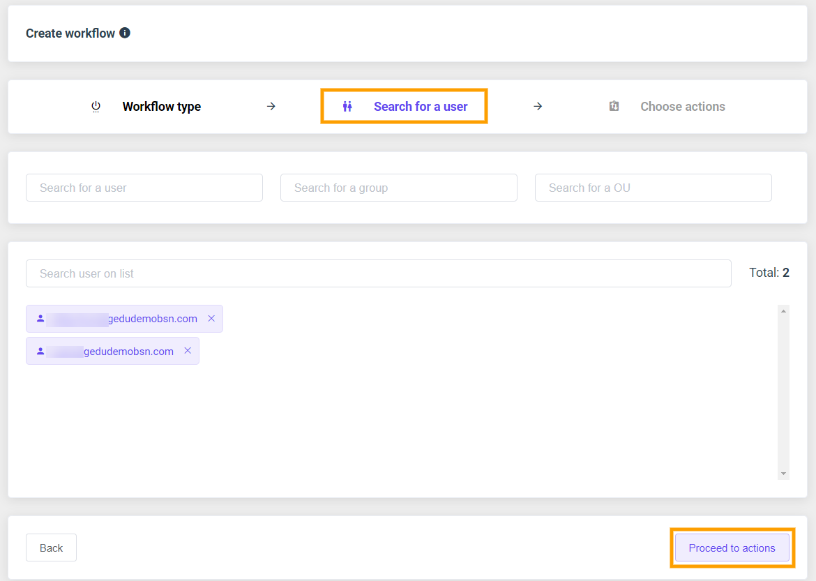 GAT Flow | Remove users from Google sites 2